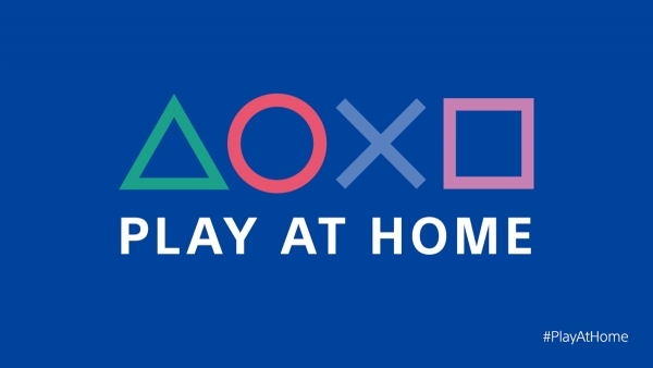 Sony Interactive Entertainment宣布「Play At Home」活動