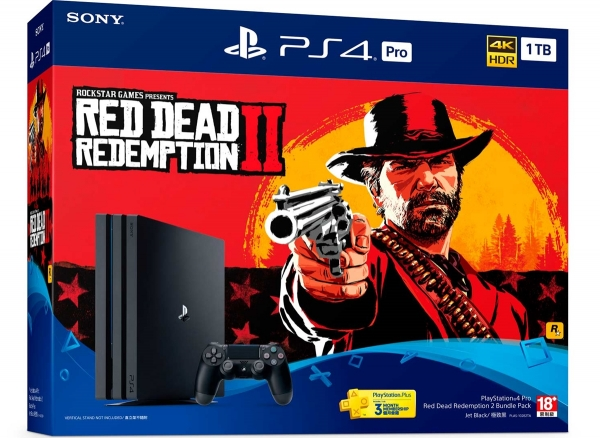 PlayStation®4 Pro Red Dead Redemption 2同捆組將於2018年10月26日發售